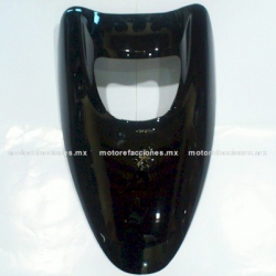 Cubierta de Faro para Motoneta Italika CS125 / XS125 (Negro Brillante)