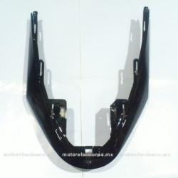Cubierta Frontal Inferior (panel o encarenado) para Motoneta Italika CS125 / XS125 (Negro Brillante)