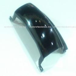 Cubierta Union Trasera Inferior Motoneta Italika CS125 / XS125 (Negro Brillante)