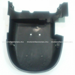 Protector de Motor Central (Panza) Motoneta Italika CS125 / XS125 (negro)