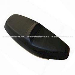 Asiento Italika CS125 / XS125 / DS125 (2017 en adelante) (negro) - Tipo ORIGINAL
