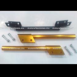 Manubrio Deportivo Ajustable Motocicleta (dorado)