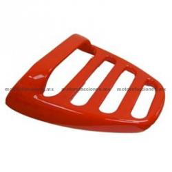 Cubierta de Parrilla Rojo Italika DS125 / DS150 / XS150 / TS170 - Phantom R4, R5 - Adventure - Siluete – VX150