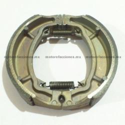 Balatas para Tambor – Italika DS150 / GTS175 / GS150 / WS150 / W150 / FT125 / FT150 - Yamaha BWS100 / YBR 125 - Marca ITALIKA