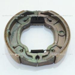 Balatas para Tambor - Suzuki GN125 - Italika EX200 / RT150 / DM200 / 125Z / 150Z / 250Z - Honda Cargo / Titan (patas planas)