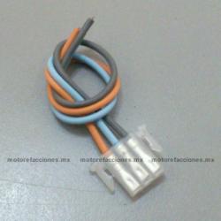 Arnes para Boton - 3 Cables - Italika DS CS GTS XS - Vento Phantom - Dinamo Adventure - Carabela VX150