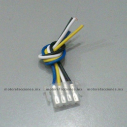 Arnes para Boton - 4 Cables – Italika DS CS GTS XS - Vento Phantom - Dinamo Adventure - Carabela VX150