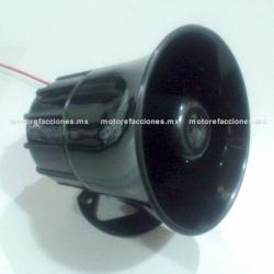 Sirena de 6 Tonos para Motocicletas y Motonetas (tipo alarma)