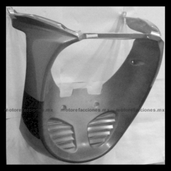 Panel o Encarenado Italika DS150 - Vento Phantom R5 - Carabela VX150 - Dream Siluete (Negro Brillante con Plata)
