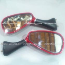 Espejos p/ EX200 / RT200 (rojo)