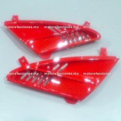 Tomas de Aire de Tapa de Faro Italika DS150 - Vento Phantom R5 - Carabela VX150 - Dream Siluete (Rojo)