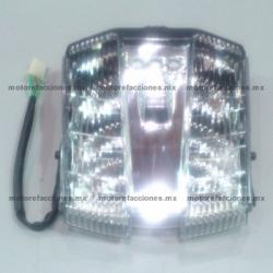 Calavera Italika FT180 de LED