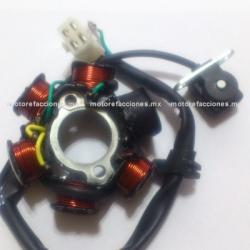 Estator 6 bobinas AC - Dinamo 110cc