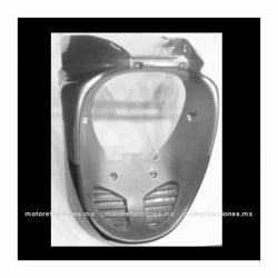 Panel o Encarenado Italika XS150 - Dinamo Adventure - Vento Phantom R4 – Italika DS150 2006 (Negro Mate c/ Plata)