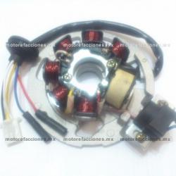 Estator 7 bobinas AC - 2T (2 tiempos) - Vento ZIP