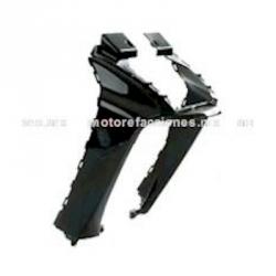 Cubierta Frontal Inferior (panel o encarenado) Motoneta Italika WS175 / WS150 Nueva Versión (Negro Brillante)