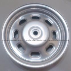"""Rin Trasero Italika CS125 / XS125 - (10"""" de Aluminio)"""