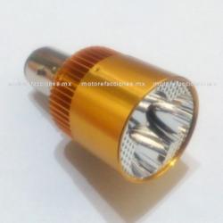 Foco Faro Bayoneta Ultra-LED (luz blanca) - (Sustituye al Foco Globo) - 3 Unidades - ALTA y BAJA