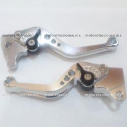 Manijas Ajustables - Italika DS125 / DS150 / GS150 / GTS175 (rojo)