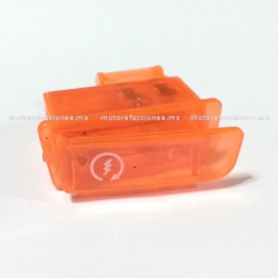 Boton de Claxon color Naranja