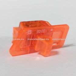 Boton de Cuarto y Luz color Naranja