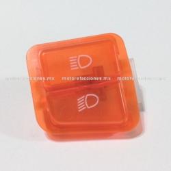 Boton de Luz Alta y Baja STD color Naranja