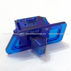 Boton de Cuarto y Luz color Azul