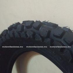 Llanta para Motocicleta 2.75-17 - (6 capas) - Gajo / Bota - Italika AT110