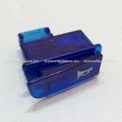 Boton de Claxon color Azul