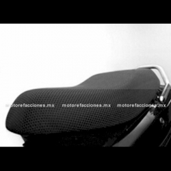 Malla Asiento - Italika CS125 / WS150 / FT125 / FT150 (negro)