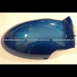Salpicadera Delantera Posterior Italika DS125 / DS150 / XS150 / TS170 – Phantom R4, R5 - Adventure (Azul)