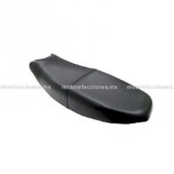 Asiento Italika FT150 (Negro) - Todos los Años