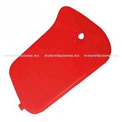Cubierta de Bomba de Freno para Antifaz de Manubrio - Italika DS150 - (Rojo)
