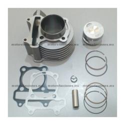 Kit de Cilindro 125cc - Italika CS125 / XS125 / DS125 - Tank 125T – Zanetti Tato 125