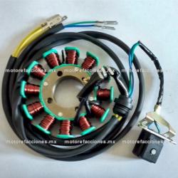 Estator 12 bobinas DC Italika EX200 / RT200 / RT200 GP