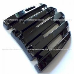 Cubierta de Parrilla Negro Brillante Italika GS150 / GTS175 - Vento Phantom 9i
