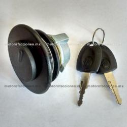 Tapon de Gas Vento V-Thunder / Colt c/ Llaves (negro)