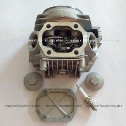 Cabeza de Cilindro Italika AT110 Completa (Gris)