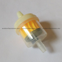 Filtro de Gasolina STD (transparente)