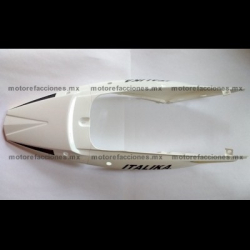 Cubierta Trasera (de Cola) Motocicleta - Italika DM150 (blanco)