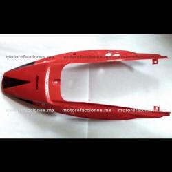 Cubierta Trasera (de Cola) Motocicleta - Italika DM150 (rojo)