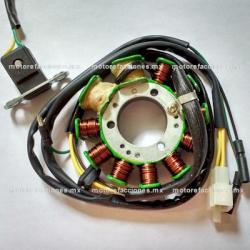 Estator 11 bobinas AC - Dinamo - Toromex 250cc (motor en línea)