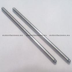 Varillas de Empuje Motocicletas 200cc (2 pzas) - (148.5 mm) - Italika DM200