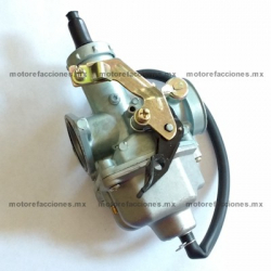Carburador Completo - Ahogador Manual – Italika FT125