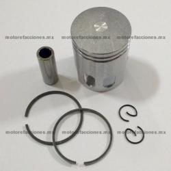 Piston Completo Motoneta 2T 50cc (STD - perno 10mm) - Vento ZIP - Lifan - Zanetti