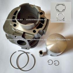 Kit de Cilindro GY6 2T 100cc (perno 12mm) - Vento - Lifan - Zanetti