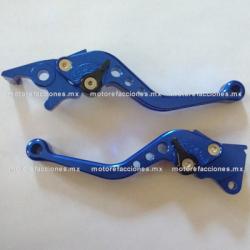 Manijas Ajustables - DS125 / DS150 / GS150 / GTS175 - Phantom R3. R4, R5, 9i (azul)