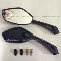 Espejos p/ Motoneta STD (negro) - Italika TS170