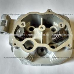 Cabeza de Cilindro FT150 / FT150 GT - Motocarro Dazon 200 - Custom Chinas 150cc (gris) - 1 Salida para Escape