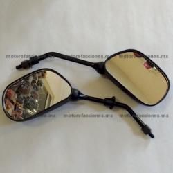 Espejos Negros Grandes STD (8mm)